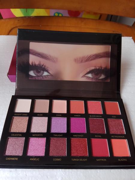 Eye hadow 18 color palette himmer matte eye hadow pro eye makeup co metic dhl hipping