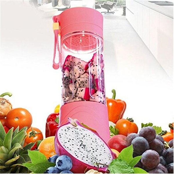 Portable Electric Fruit Juicer Cup Vegetable Citrus Blender Juicer with USB charger free shipping