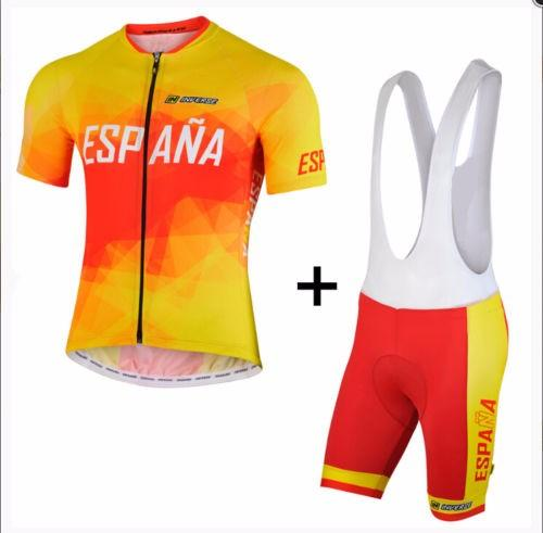 2017 new ESPANA pro cycling jersey Bisiklet team sport suit bike maillot ropa ciclismo Bicycle MTB bicicleta clothing set