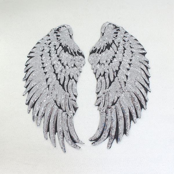 Вышивка крылья ангела 86