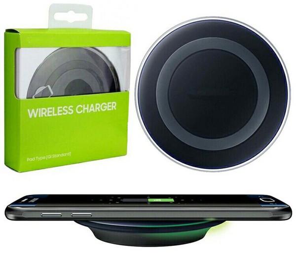 Wirless Pad Держатель зарядного устройства Быстрая зарядка для iPhone 6s 6 Для Samsung Galaxy S8 + S8 фото