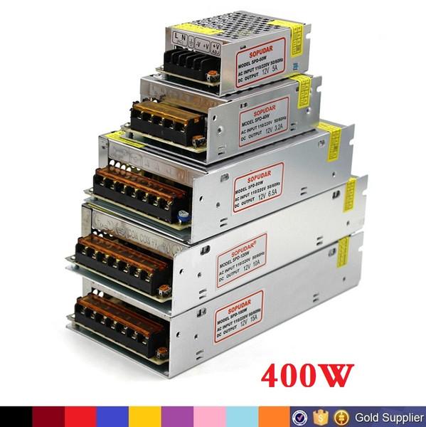 Dc 12v led tran former 70w 120w 180w 200w 240w 300w 360w 400w power upply for led trip led module ac 100 240v