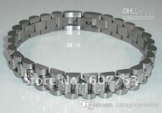 Часы группа стиль 316L нержавеющей стали роскошный браслет Ссылка женская Леди бра