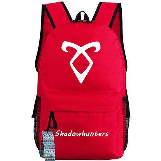 Shadowhunters backpack Teleplay schoolbag Shadow hunter TV play daypack Outdoor school bag Nylon rucksack Hot sale day pack