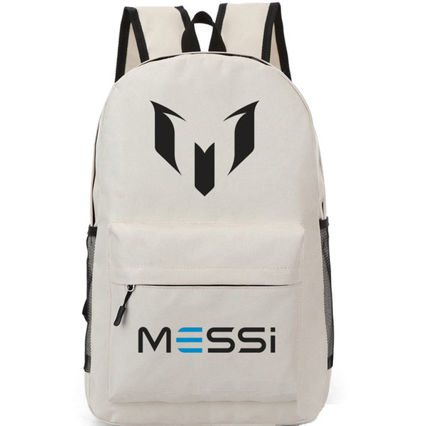 Logo M backpack Lionel Messi school bag Soccer fans daypack Football schoolbag Outdoor rucksack Sport day pack (sportmill) Salt Lake City Buying a used goods