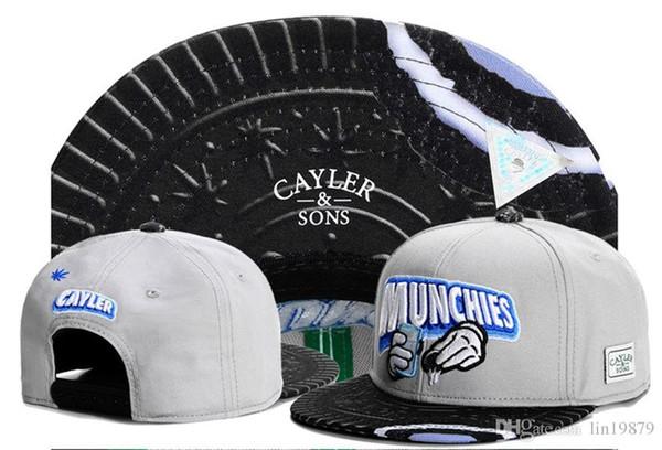 Cayler Sons MUNCHIES бейсболки спорт гольф Snapback открытый шляпы для мужчин кости Gorras Casquette Ch фото