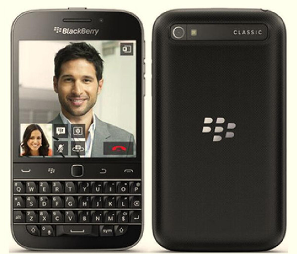 Refurbi hed blackberry cla  ic blackberry q20 u  eu white unlocked cell phone dual core 2gb ram 16gb rom 8mp white black