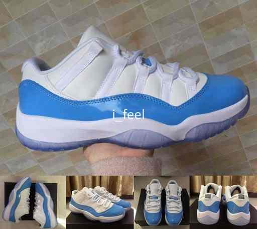 2017 low unc white univer ity blue 11 xi men ba ketball hoe 11 north carolina port ba ket ball neaker ize 8 13
