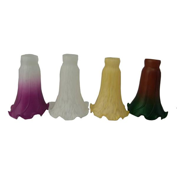E14 пруд Лили абажуром стекла Замена Освещение Аксессуары для talbe светильник Насте