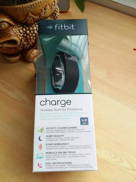 Fitbit заряд новый интеллектуальный bluetooth водонепроницаемый шаг метр движение предупреждены о bluetooth браслет Браслет цена материально benefi
