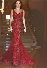 2018 new arabic backle mermaid evening dre e 2017 charming long prom gown equin weetheart lace applique formal evening gown