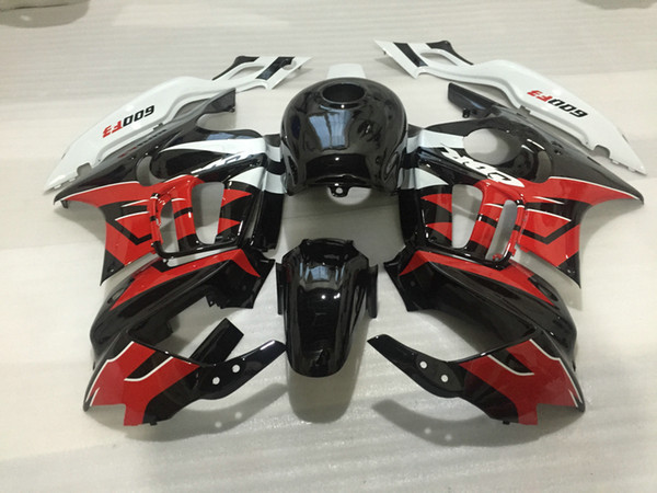 Бесплатные 7 подарков Зализ комплекта для Honda CBR600F3 97 98 черных красных белых обтека фото