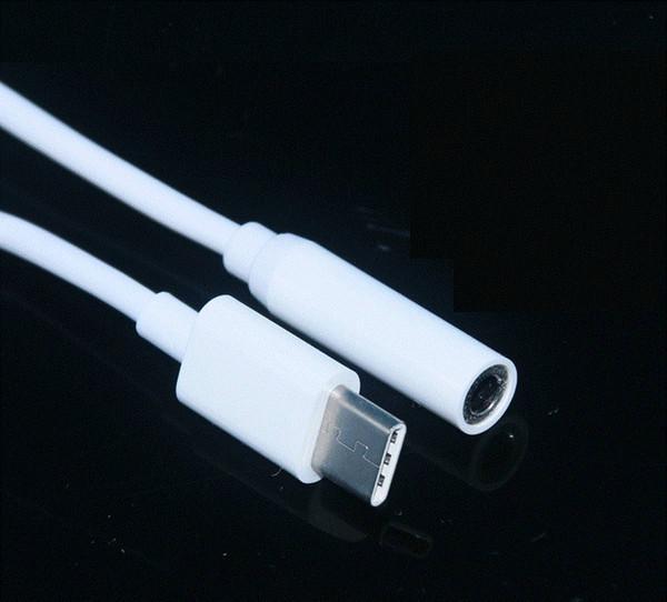 11 см аудио адаптер мужской тип-C тип C до 3.5 мм разъем женский аудио AUX кабель Covertor TPE фото