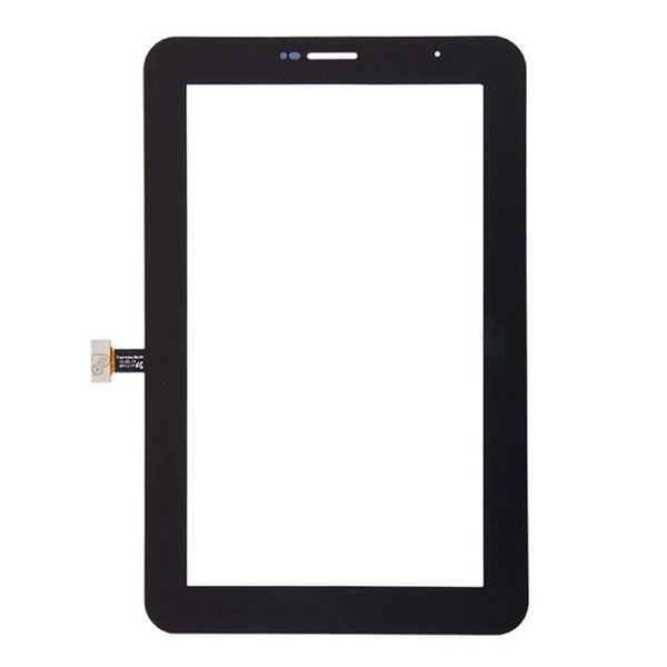 150pc te ted black white for am ung galaxy tab 2 7 0 p3100 p3110 touch creen digitizer adhe ive panel outer gla en or dhl free