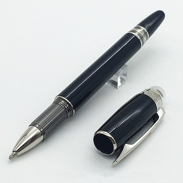 Classique Black Resin ballpoint pen stationery office suppliers roller Pen for writing