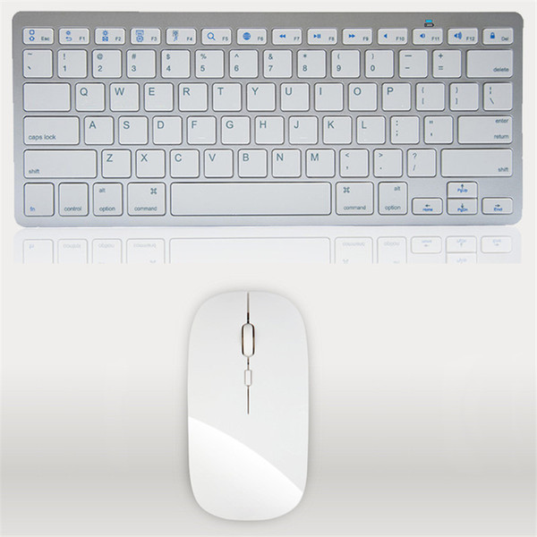 Ultra-Thin Wireless Keyboard Mouse Combo 2.4G Wireless Mouse for Apple Keyboard Style Mac Pc WindowsXP/7/8/10 Tv Box (szsuperfactory) Hartford Buying a used goods