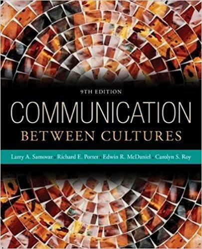 2017 Real Paper book Communication Between Cultures 9th Edition P453 978-1285444628 free DHL shipping