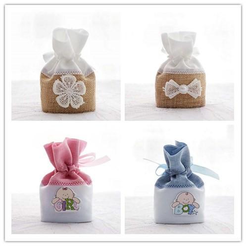 4 стиль выбрать--50шт 11*7.3 см белье свадьба пользу сумки для гостей, детские душ шоко фото