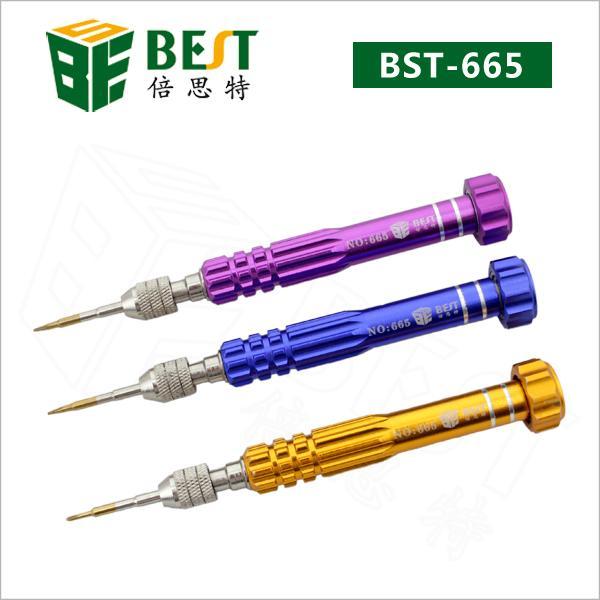 Класс качество телефон ремонт инструменты BST-665 отвертка лучший 3 в 1 Набор отверто