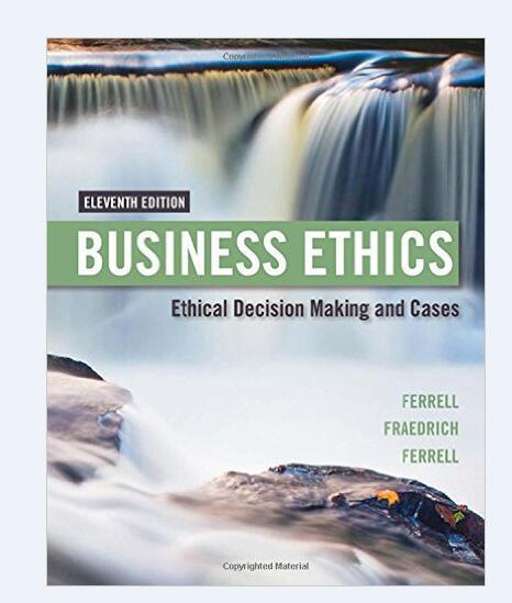 Hot sale books: Business Ethics 978-1305500846