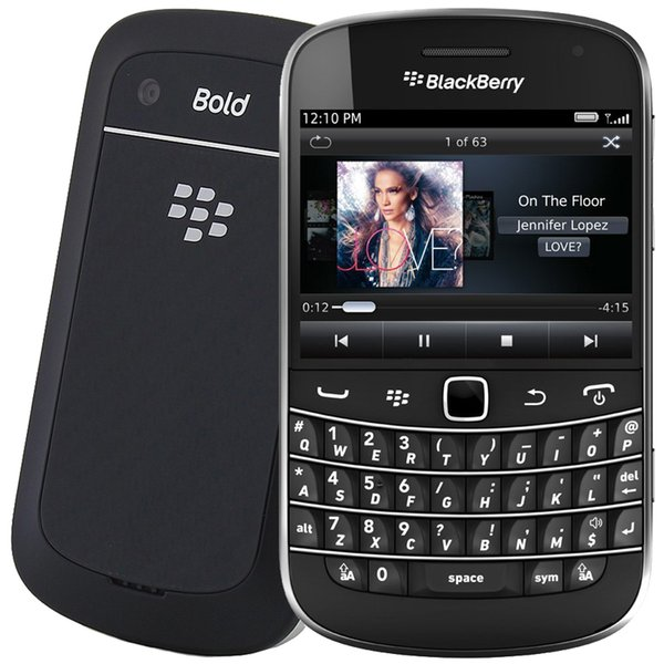 Refurbi hed blackberry bold touch 9900 3g wcdma cell phone with 2 8inch  creen qwertykeyboard 8g rom 5 0mp camera 1230mah battery
