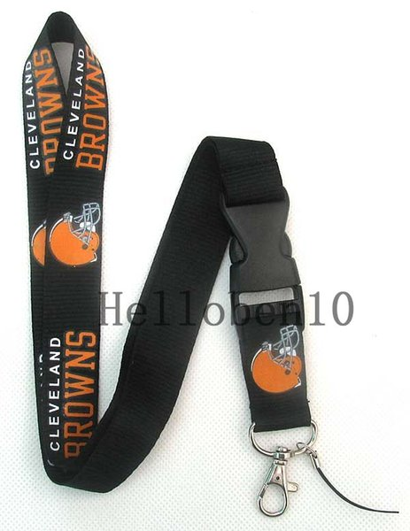 The new delivery 20pc  balck orange pattern  football cu tom logo   neck lanyard  lanyard keychain   mobile phone   jkl4