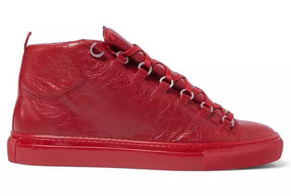 2017 новый оптовый прибыл мужские кроссовки Марка кожа популярные досуг обувь Арен фото