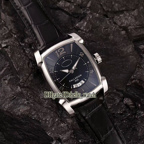High Quality Luxry Brand Kalpa Grande Palladium PF011128.01 Black Dial Automatic Mens Watch Leather Strap New Sport Watches LIMITED EDITIONS (hello_watch) Stockton Buy Ad