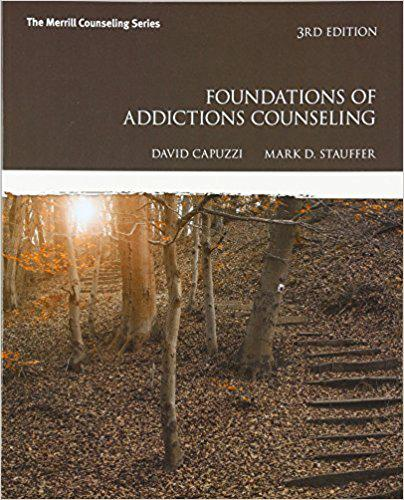 Foundations of Addictions Counseling (3rd Edition) 3rd Edition 978-0547179629 paperback text books for students 10pcs
