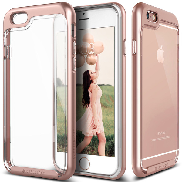 Ca eology®   kyfall  for iphone x  max xr x 8 ca e fu ion clear tpu pc 2in1 back cover for apple iphone 7 6 plu