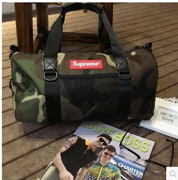Бренд Большой емкости Рюкзак-ведро рюкзак Дорожные сумки на ремне Холст Унисекс 1 фото