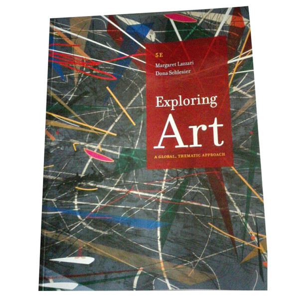2017 Exploring Art A Global P512 978-1285858166 free DHL shipping