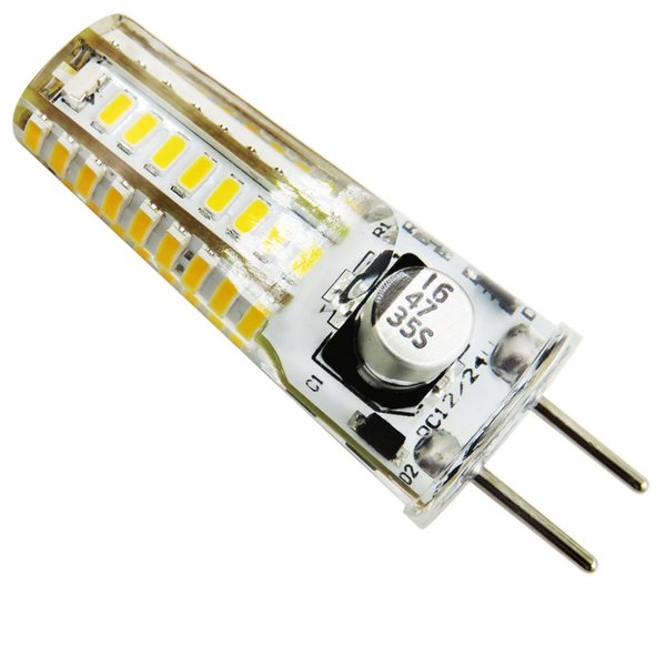 GY6.35(GX6.35/G6.35) LED Bulb 12V-24V DC AC 1.5W 200LM 36-3014 SMD Silicone Chandelier Transparent Reading Crystal Light Lamp White / Warm