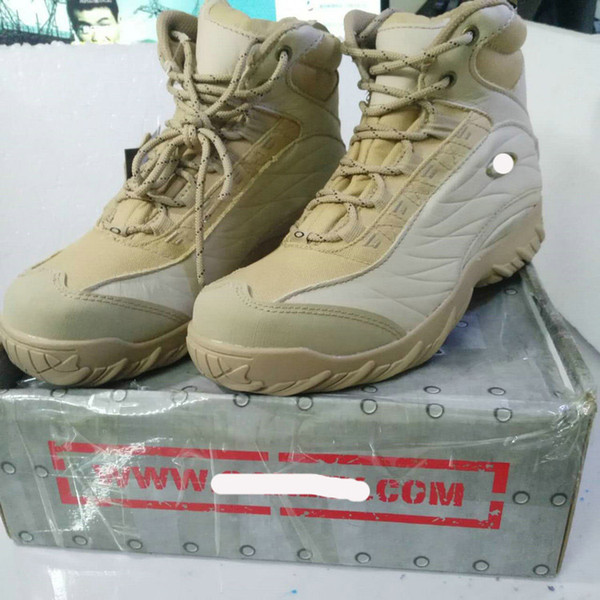 Selling in factory directly de ert tactical boot army black american combat boot outdoor hoe breathable wearable boot hipping