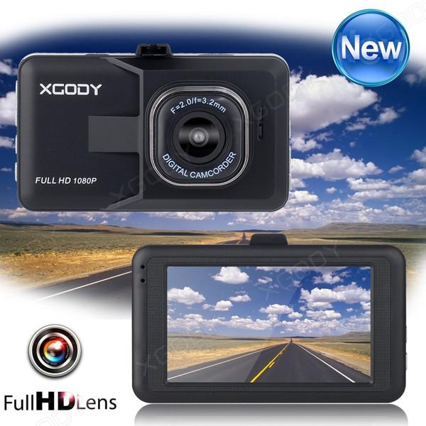 3.0''HD ЖК-экран 1080P автомобильный видеорегистратор приборной панели автомобиля вид фото