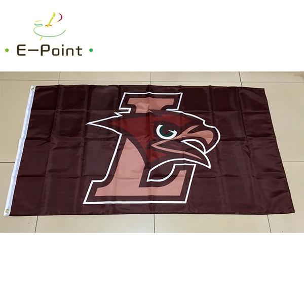 NCAA Лехай горные ястребы полиэстер флаг 3 фута * 5 футов (150 см*90 см) флаг баннер украш фото