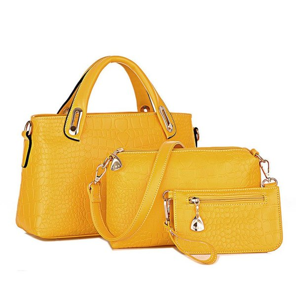wholesale- kai yunon women handbag shoulder bags tote purse leather ladies messenger hobo bag aug 22 (402634388) photo