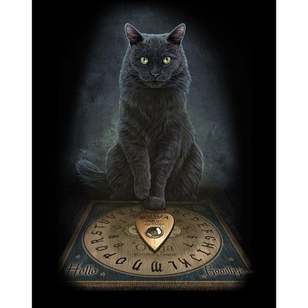 Гарфилд Белл кошка DIY Алмаз живопись вышивка 5D вышивки крестом Кристалл площади г