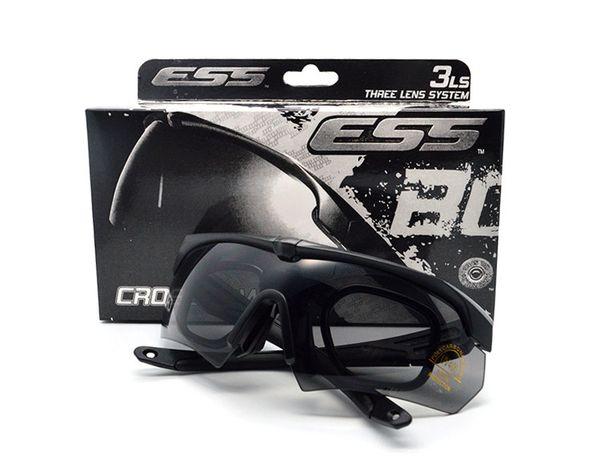 Tr90 e cro bow army outdoor port gla e bulletproof ungla e uv400 3 len tactical eyewear men 039 hooting gla e