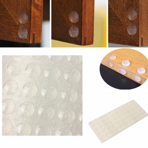 Самоклеющиеся резиновые двери буфера Pad очистить ноги полукруг бамперы для двери