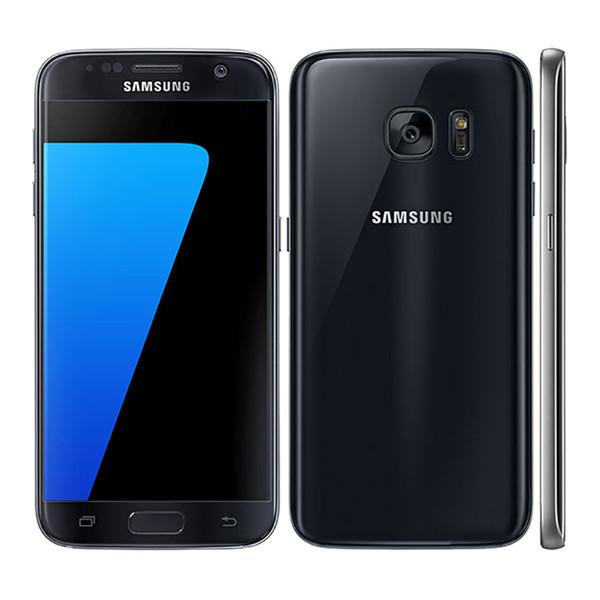 Оригинал восстановленное Samsung Галактика S7 G930A G930T G930F 5.1-дюймовый 4 ГБ оперативной п фото