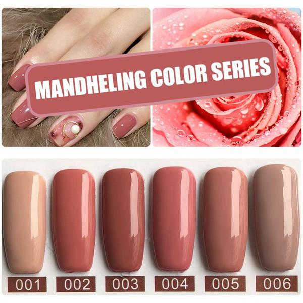 MIZHSE UV Nail Gel Polish 120 Colors For Choose Coffee UV Nail Polish Lacquer Semi Permanent Brown Led Gel Enamel