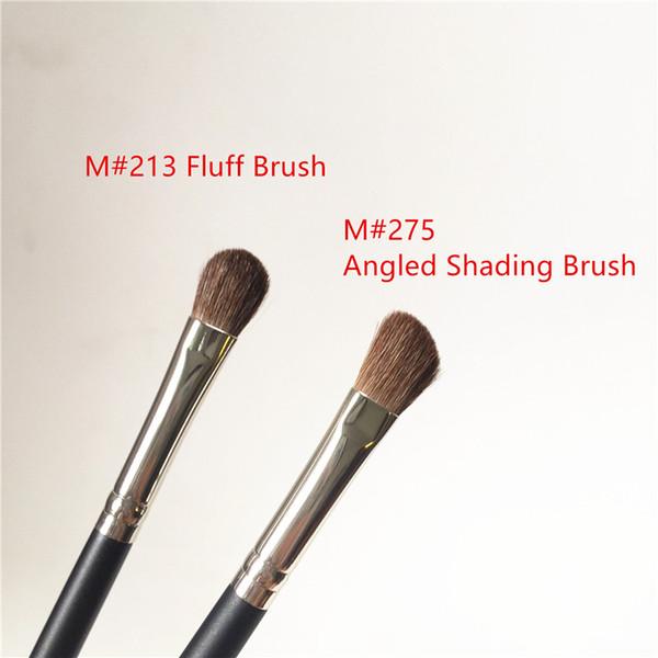 MACJAPAN 213 Fluff Brush / 275 Medium Angled Shading Brush - Мягкая подволока для волос Eyeshadow Blending Contouring - Кис фото