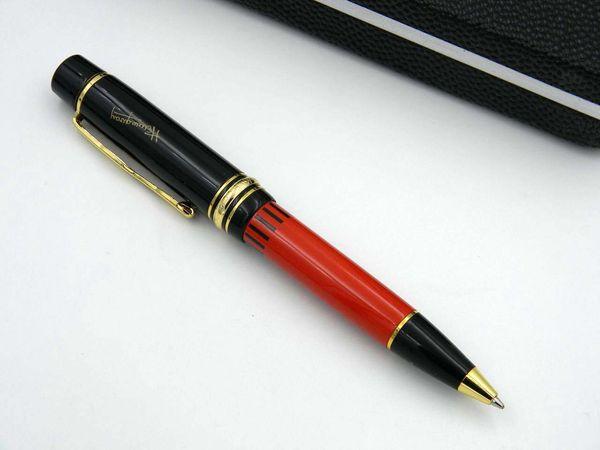 New metal OFFICE luxury GIFT Black Golden classic Engraved Great writer Hemingway series M BALLPOINT PEN