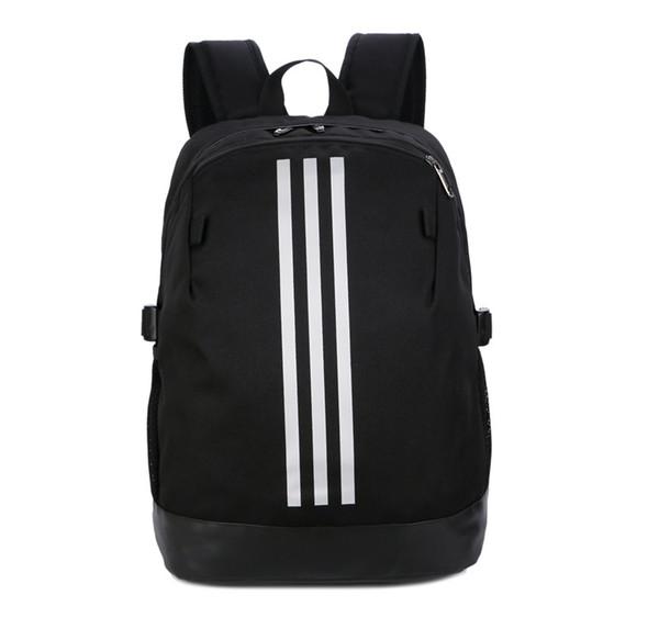 Спортивный бренд рюкзак с полосой дизайнер рюкзак печатных стильный мешок школы фото