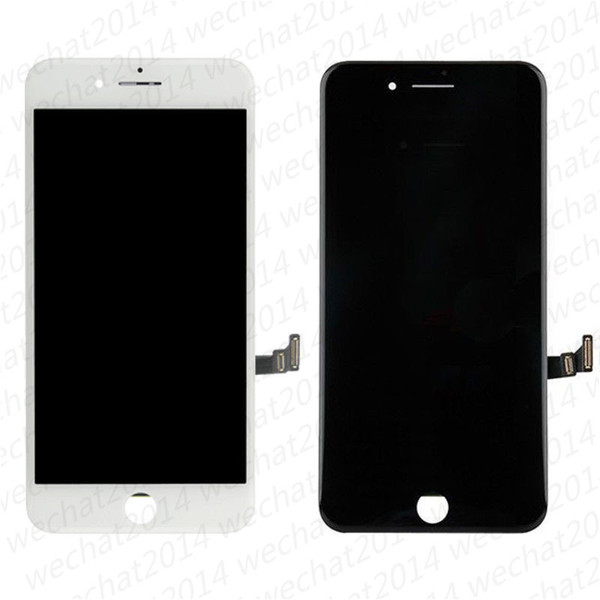 Lcd di play touch  creen digitizer a  embly replacement part  for iphone 6 6  plu  7 8 plu  dhl