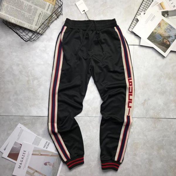 Роскошный спортивный костюм днища Мужские брюки спортивные штаны мужские бегуны