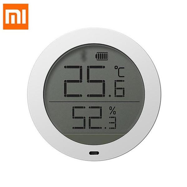 Xiaomi Mijia Smart термостат точность температуры Цифровой Беспроводной Bluetooth датчик вла фото