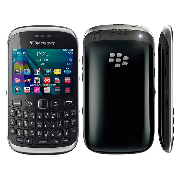 Blackberry curve 9320 3g mobile phone  2 44inch qwertykeyboard 3 15mp camera 1450mah battery refurbi hed cell phone