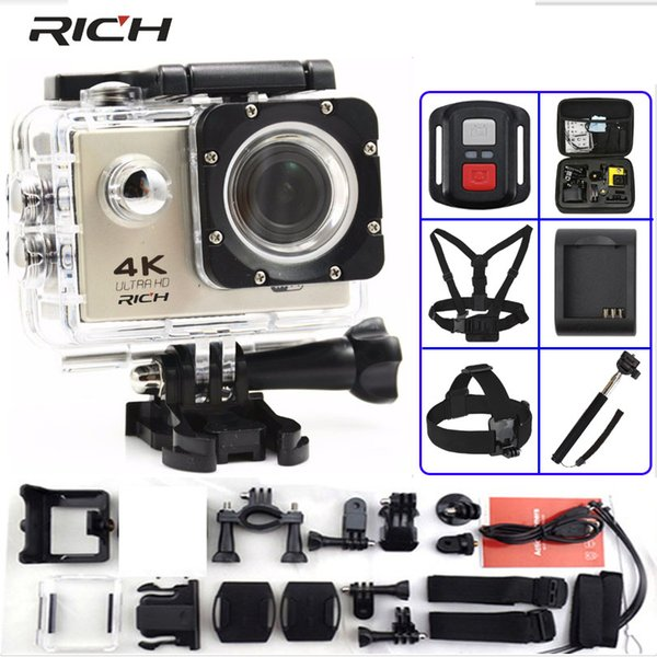 RICH Action camera F60 / F60R Ultra HD 4K / 30fps WiFi 2.0
